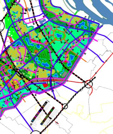 Bản đồ quy hoạch giao thông phường Cổ Nhuế 2, Bắc Từ Liêm, Hà Nội - Ảnh 3.