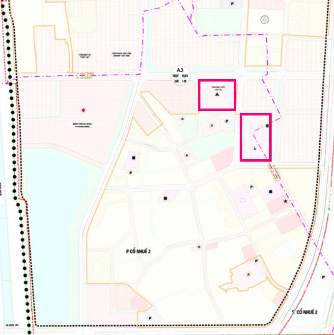 Đất dính quy hoạch ở phường Cổ Nhuế 2, Bắc Từ Liêm, Hà Nội - Ảnh 1.