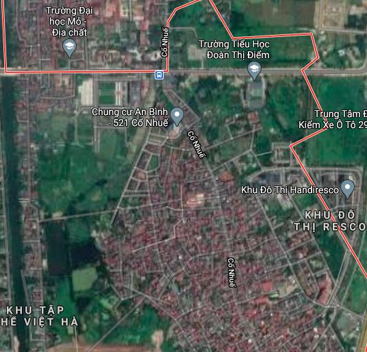 Đất dính quy hoạch ở phường Cổ Nhuế 2, Bắc Từ Liêm, Hà Nội - Ảnh 2.