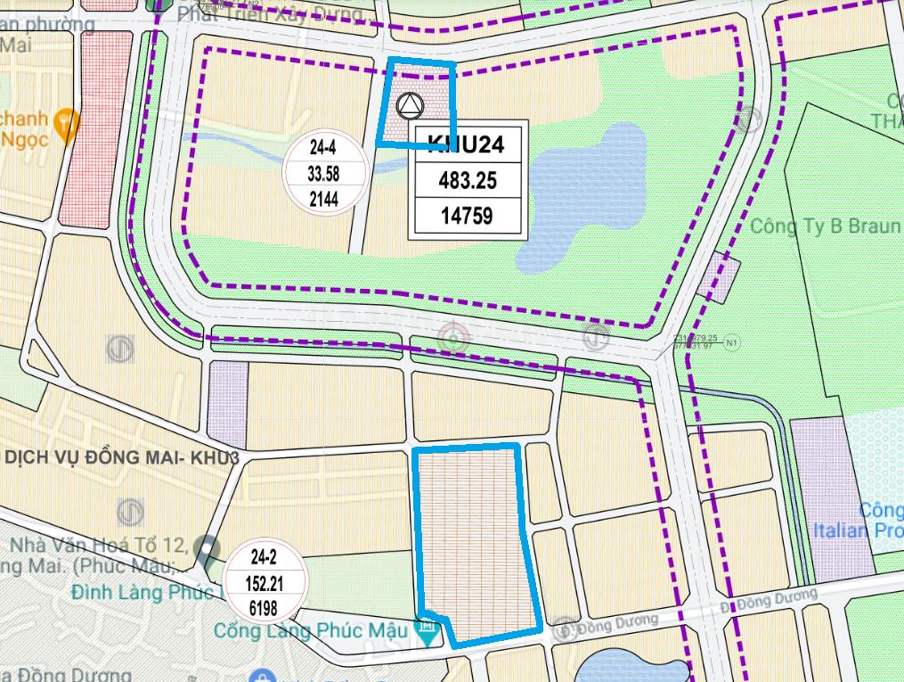 Đất dính quy hoạch ở phường Đồng Mai, Hà Đông, Hà Nội - Ảnh 1.