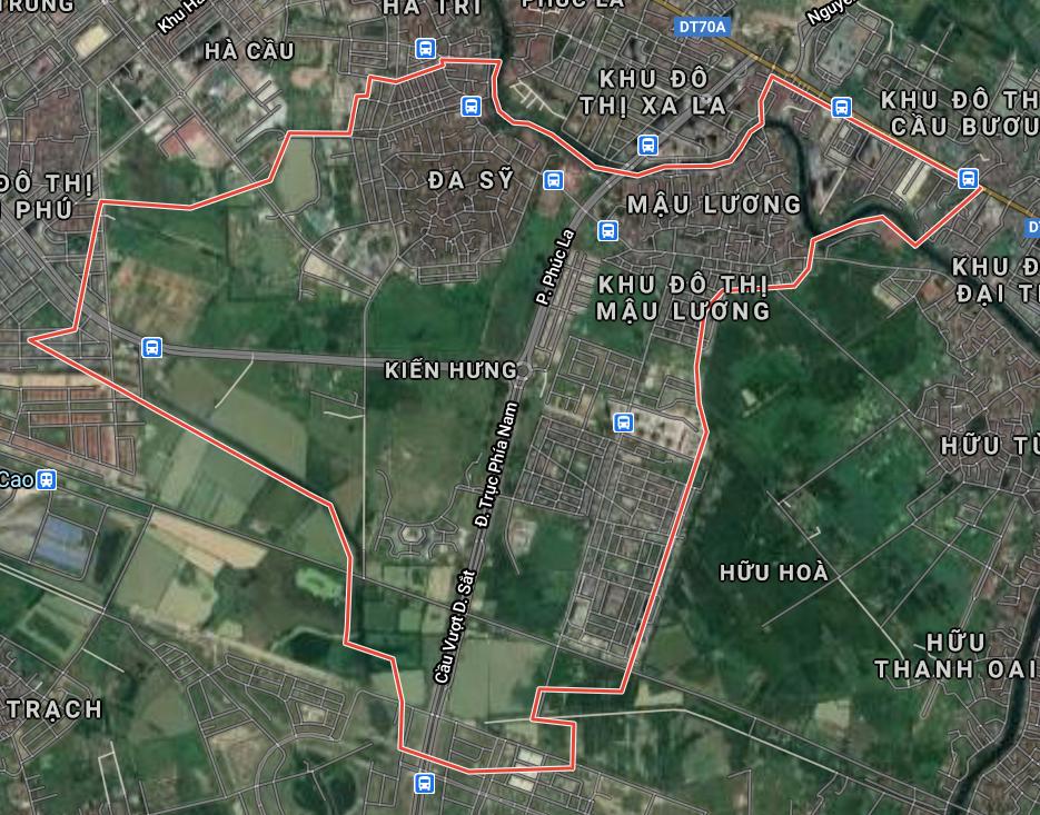 Kế hoạch sử dụng đất phường Kiến Hưng, Hà Đông, Hà Nội năm 2021 - Ảnh 2.