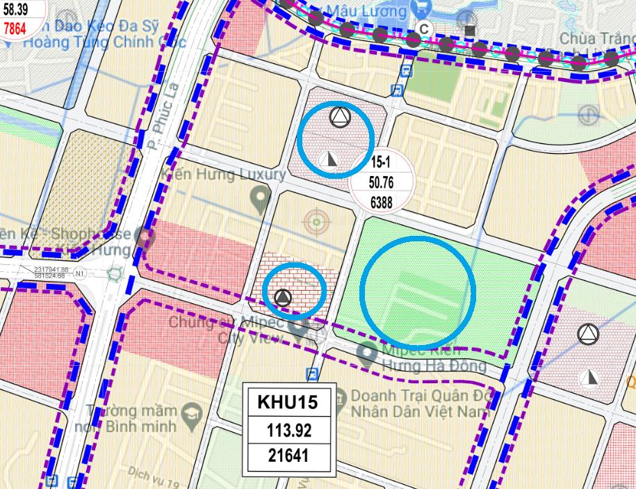Đất dính quy hoạch ở phường Kiến Hưng, Hà Đông, Hà Nội - Ảnh 1.