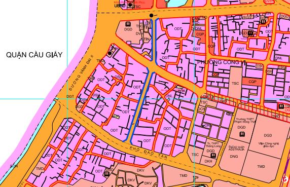 Những khu đất sắp thu hồi ở phường Cống Vị, Ba Đình để làm đường nối Đào Tấn - Đội Cấn  - Ảnh 1.