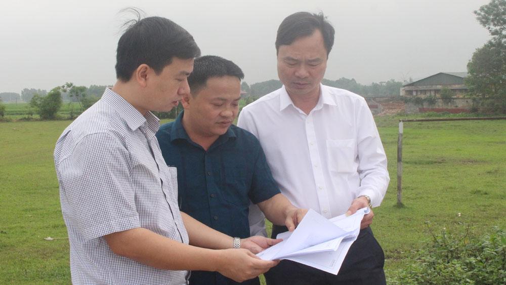 Bắc Giang: Bàn giao mốc giải phóng mặt bằng dự án đường nối quốc lộ 37 với đường tỉnh 292 tại Việt Yên - Ảnh 1.