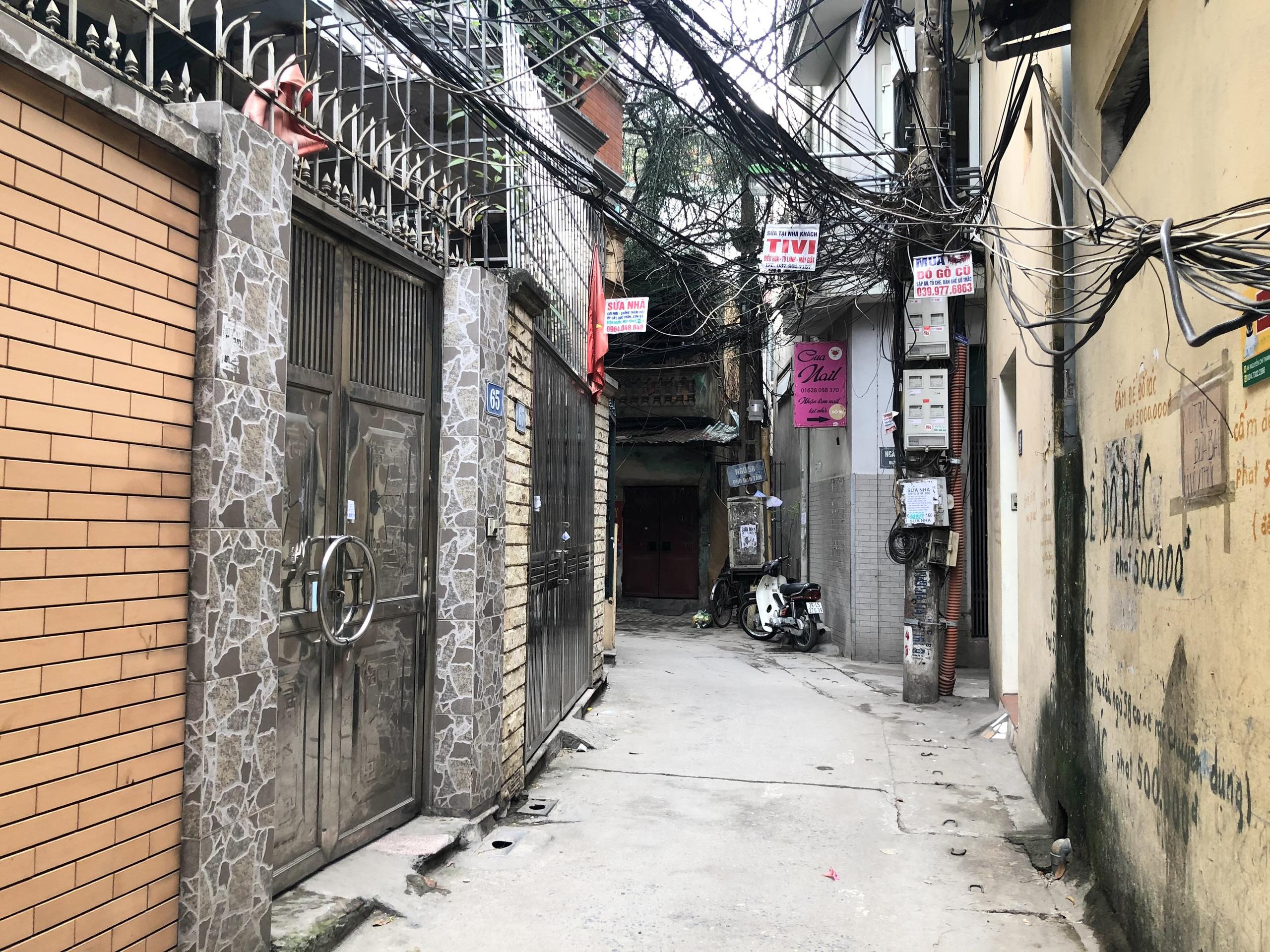 Những khu đất sắp thu hồi ở phường Cống Vị, Ba Đình để làm đường nối Đào Tấn - Đội Cấn  - Ảnh 5.