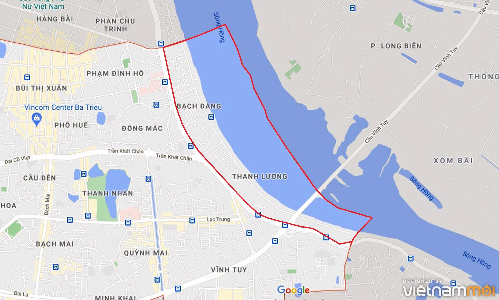 Toàn cảnh hiện trạng Phân khu đô thị sông Hồng trên địa bàn quận Hai Bà Trưng - Ảnh 1.
