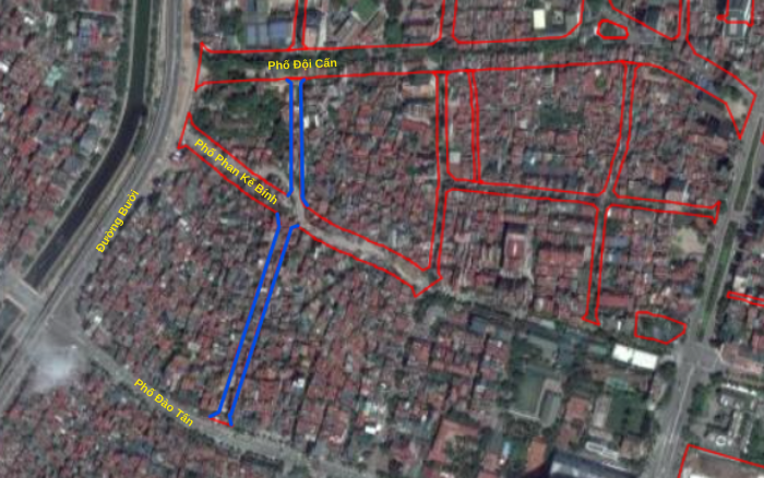 Những khu đất sắp thu hồi ở phường Cống Vị, Ba Đình để làm đường nối Đào Tấn - Đội Cấn  - Ảnh 2.