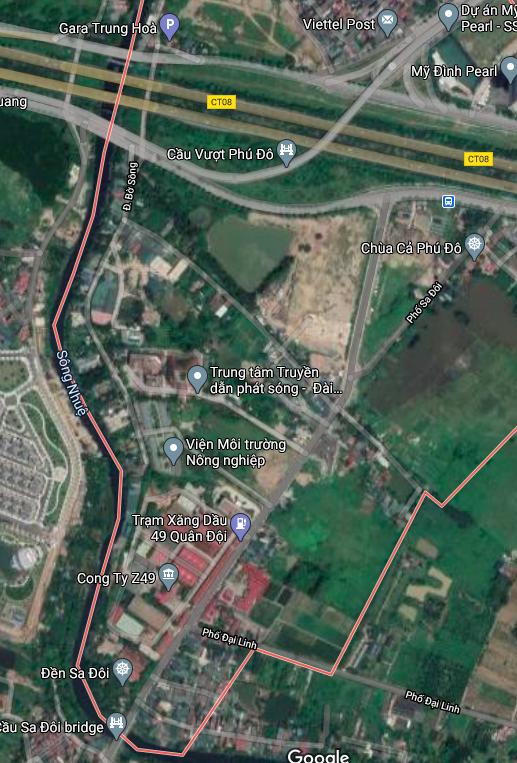 Đường sẽ mở ở phường Phú Đô, Nam Từ Liêm, Hà Nội - Ảnh 2.