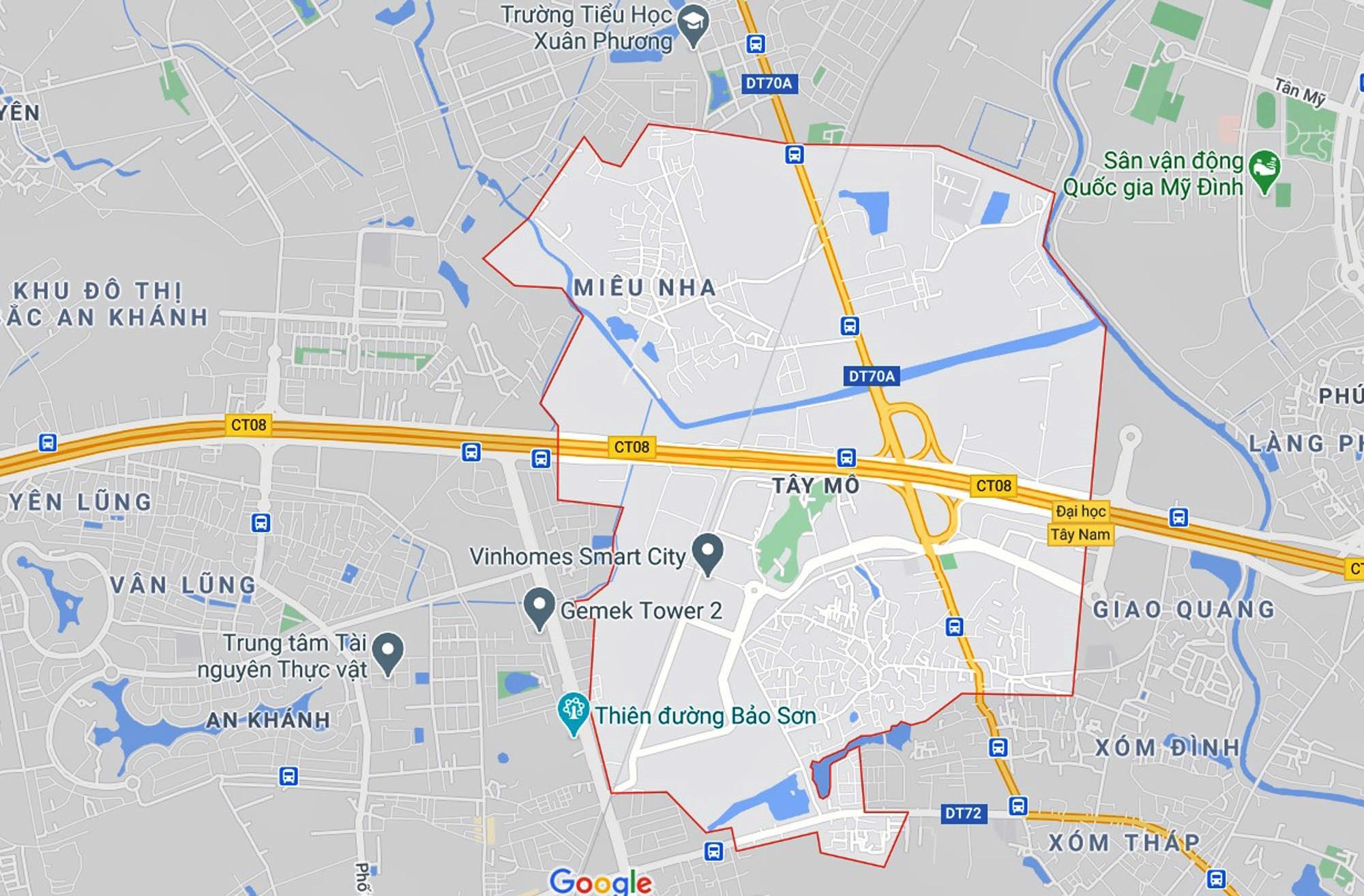 Những khu đất sắp thu hồi để mở đường ở phường Tây Mỗ, Nam Từ Liêm, Hà Nội (phần 1) - Ảnh 1.