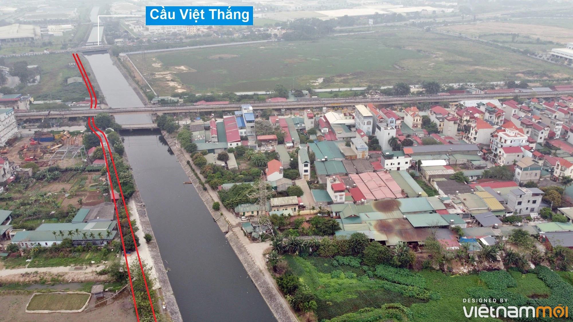Đường sẽ mở theo quy hoạch ở xã Hải Bối, Đông Anh, Hà Nội (phần 4) - Ảnh 2.