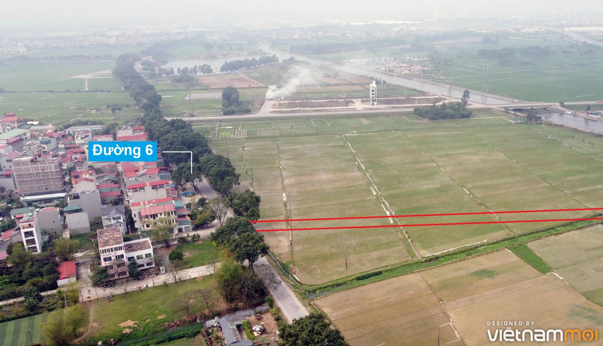 Đường sẽ mở theo quy hoạch ở xã Hải Bối, Đông Anh, Hà Nội (phần 4) - Ảnh 7.