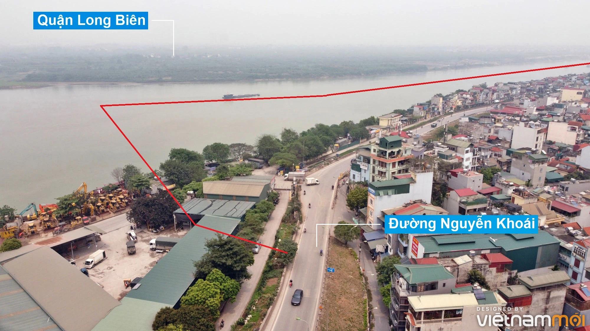 Toàn cảnh hiện trạng Phân khu đô thị sông Hồng trên địa bàn quận Hoàng Mai - Ảnh 2.