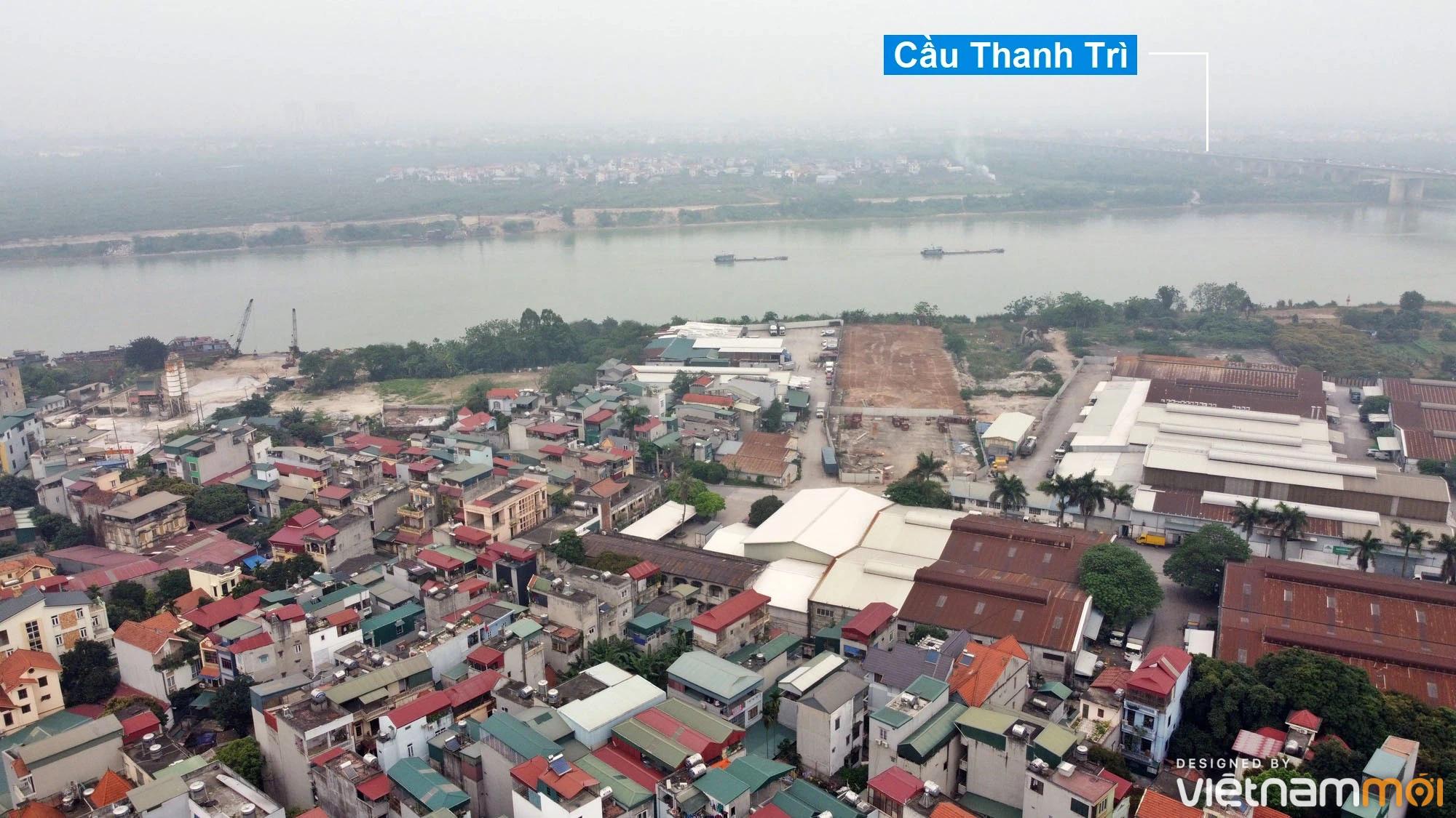 Toàn cảnh hiện trạng Phân khu đô thị sông Hồng trên địa bàn quận Hoàng Mai - Ảnh 6.