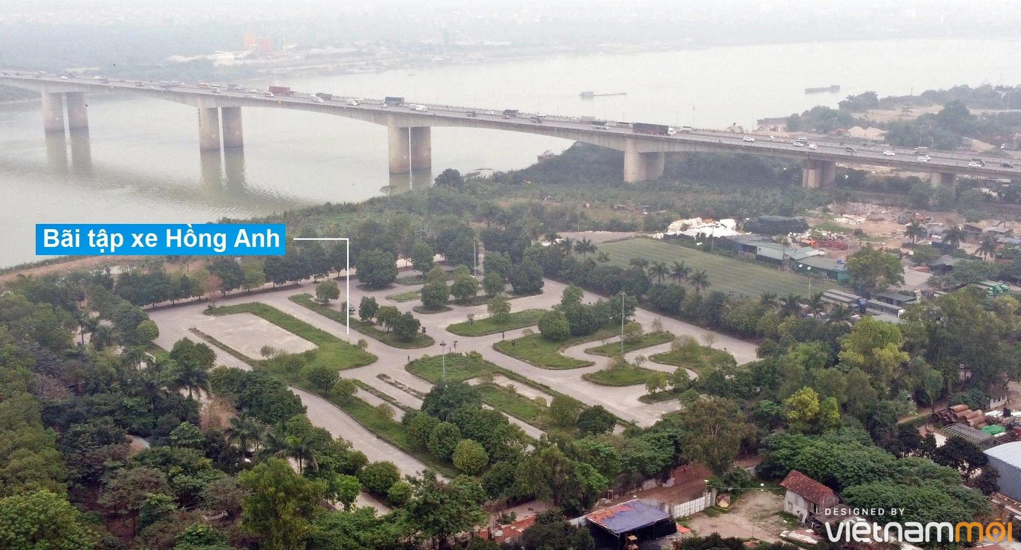 Toàn cảnh hiện trạng Phân khu đô thị sông Hồng trên địa bàn quận Hoàng Mai - Ảnh 12.