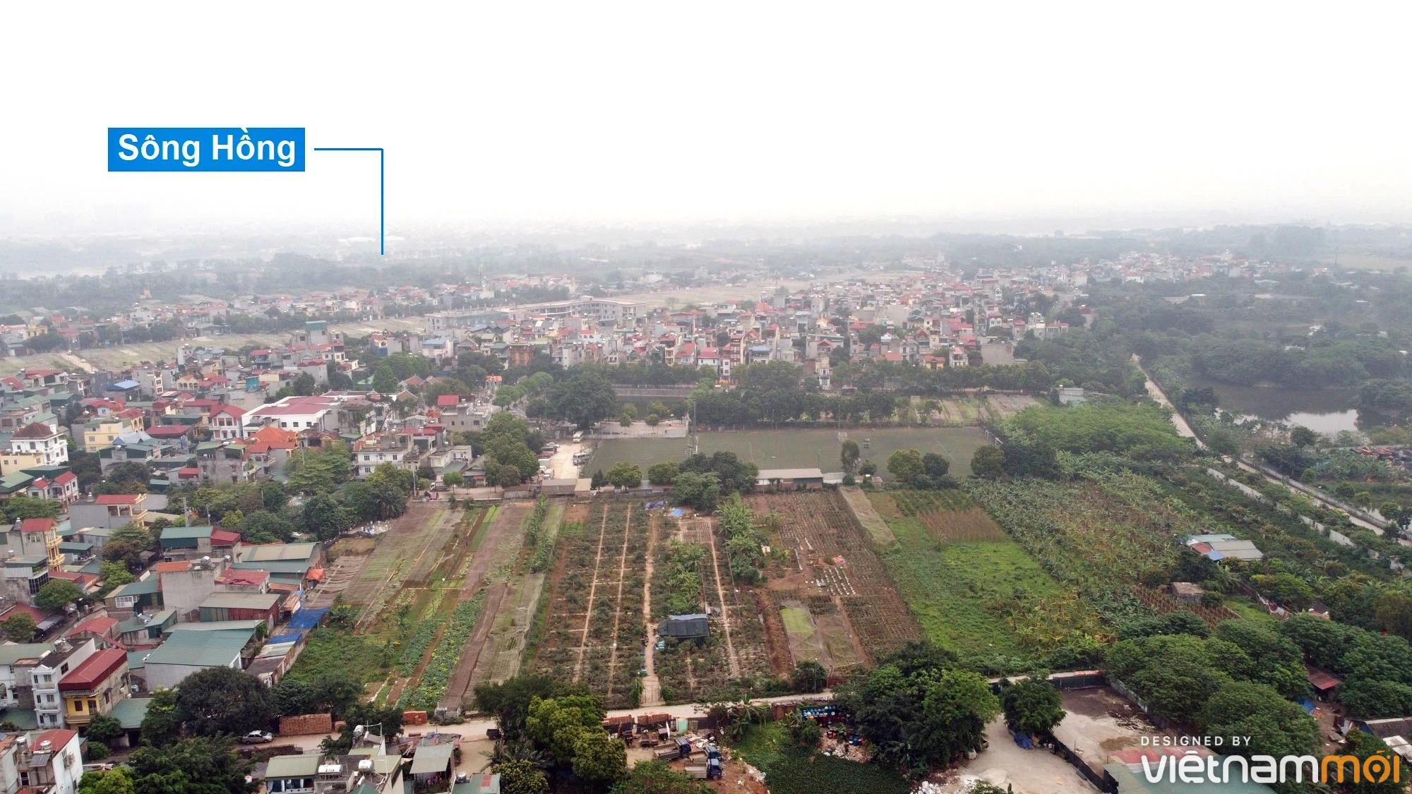 Toàn cảnh hiện trạng Phân khu đô thị sông Hồng trên địa bàn quận Hoàng Mai - Ảnh 20.