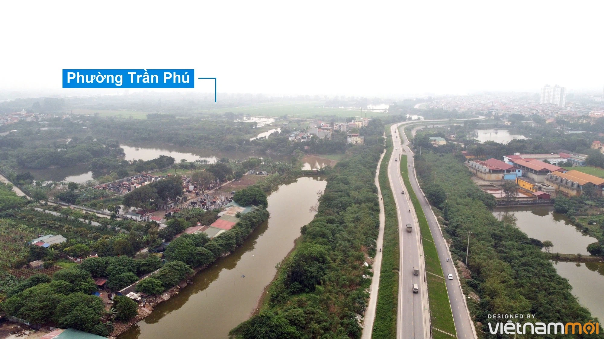 Toàn cảnh hiện trạng Phân khu đô thị sông Hồng trên địa bàn quận Hoàng Mai - Ảnh 22.
