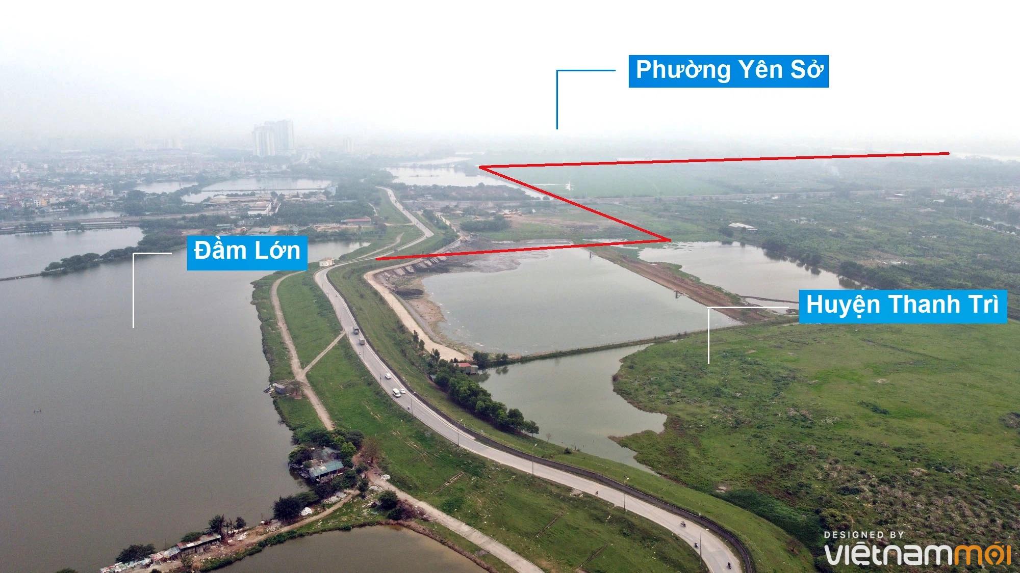 Toàn cảnh hiện trạng Phân khu đô thị sông Hồng trên địa bàn quận Hoàng Mai - Ảnh 24.
