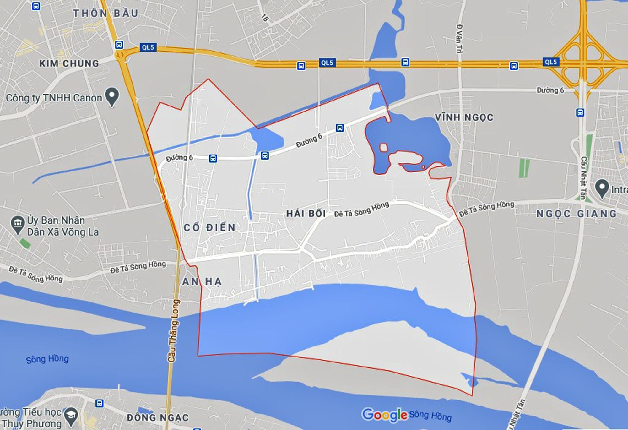 Đường sẽ mở theo quy hoạch ở xã Hải Bối, Đông Anh, Hà Nội (phần 4) - Ảnh 1.
