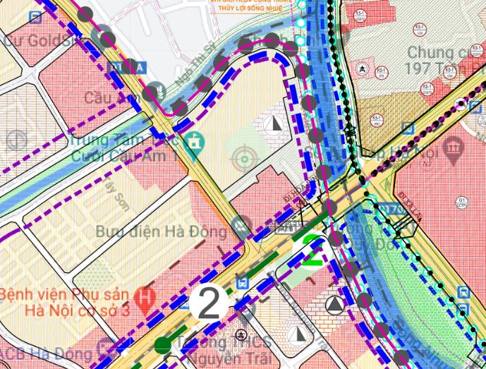 Bản đồ quy hoạch sử dụng đất phường Yết Kiêu, Hà Đông, Hà Nội - Ảnh 2.