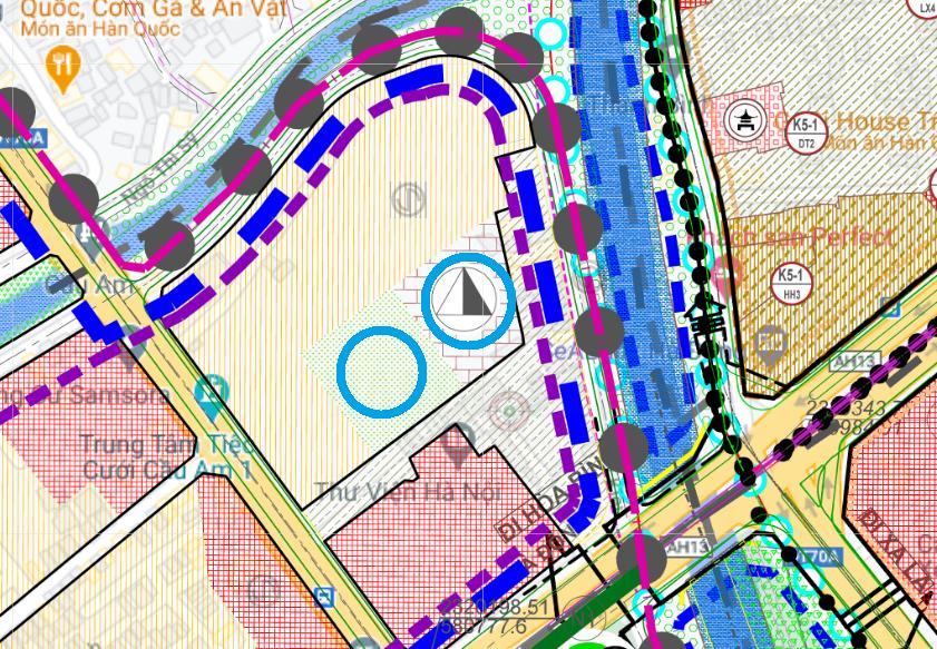 Đất dính quy hoạch ở phường Yết Kiêu, Hà Đông, Hà Nội - Ảnh 1.