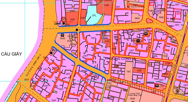 Những khu đất sắp thu hồi ở phường Cống Vị, quận Ba Đình (phần 2): Mở rộng phố Phan Kế Bính và phố Đội Cấn - Ảnh 1.