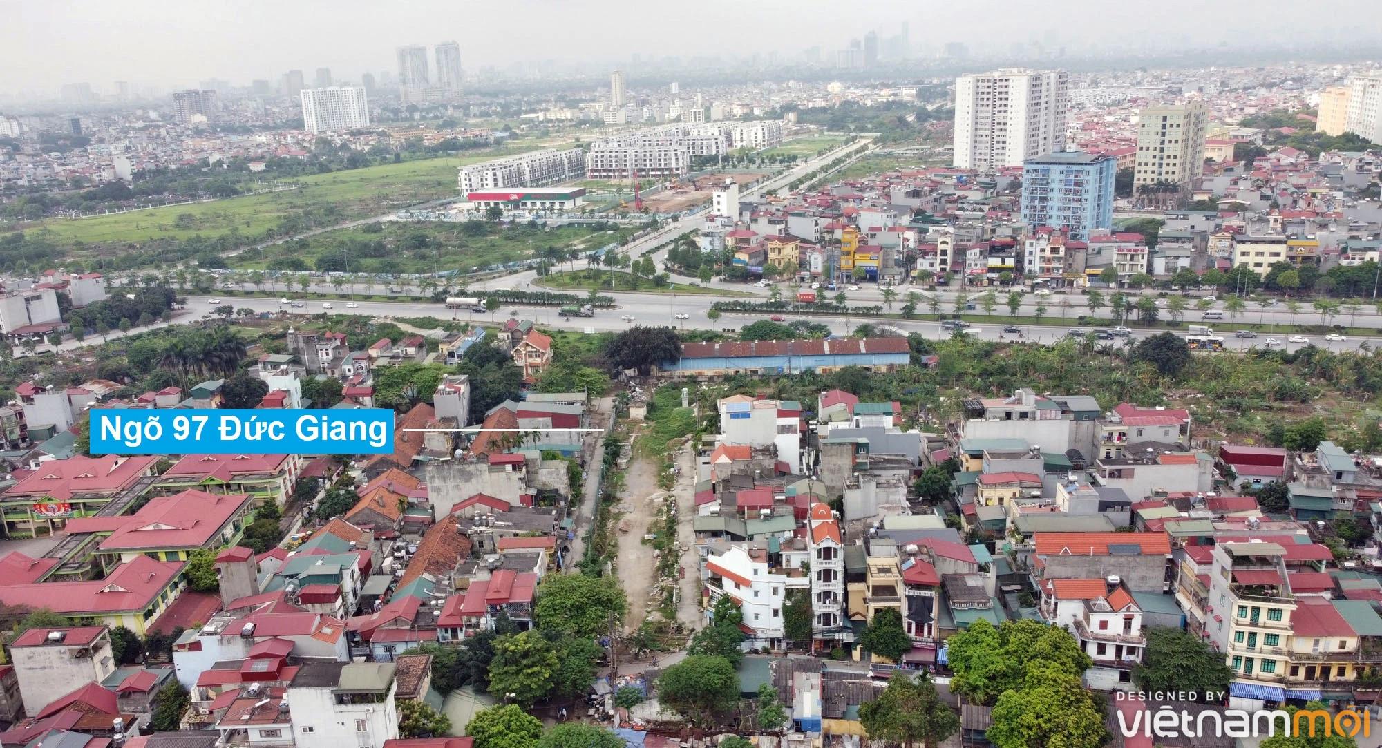 Toàn cảnh đường từ đê Ngọc Thụy đến KĐTM Thượng Thanh đang mở theo quy hoạch ở Hà Nội - Ảnh 9.
