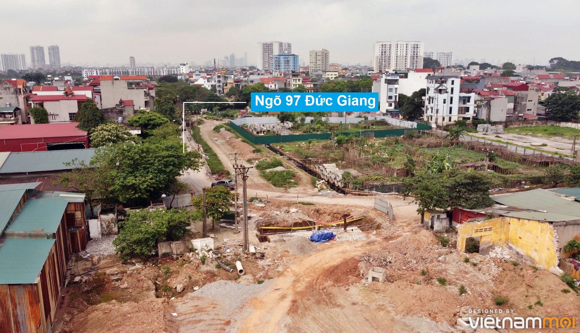 Toàn cảnh đường từ đê Ngọc Thụy đến KĐTM Thượng Thanh đang mở theo quy hoạch ở Hà Nội - Ảnh 12.