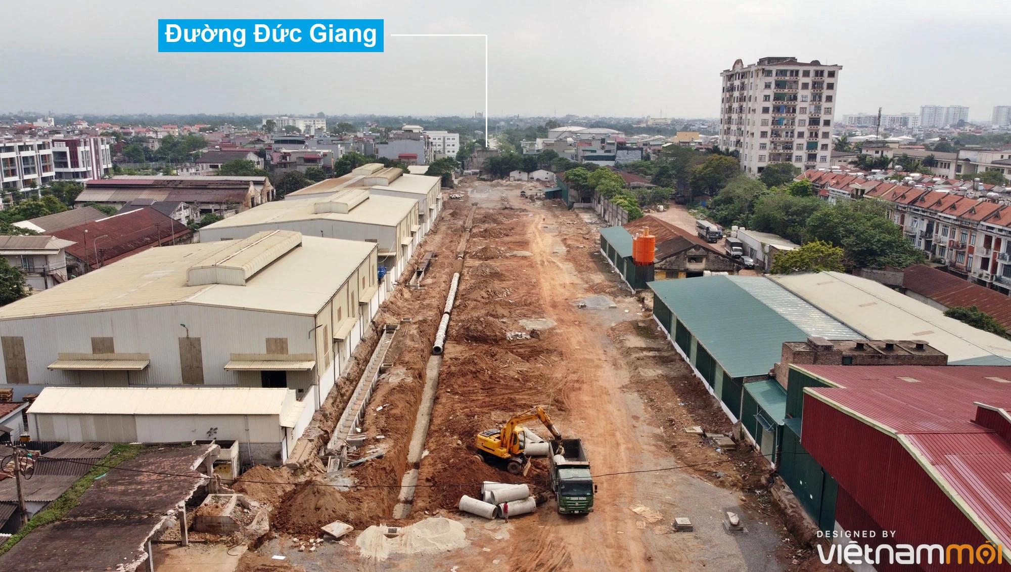 Toàn cảnh đường từ đê Ngọc Thụy đến KĐTM Thượng Thanh đang mở theo quy hoạch ở Hà Nội - Ảnh 13.