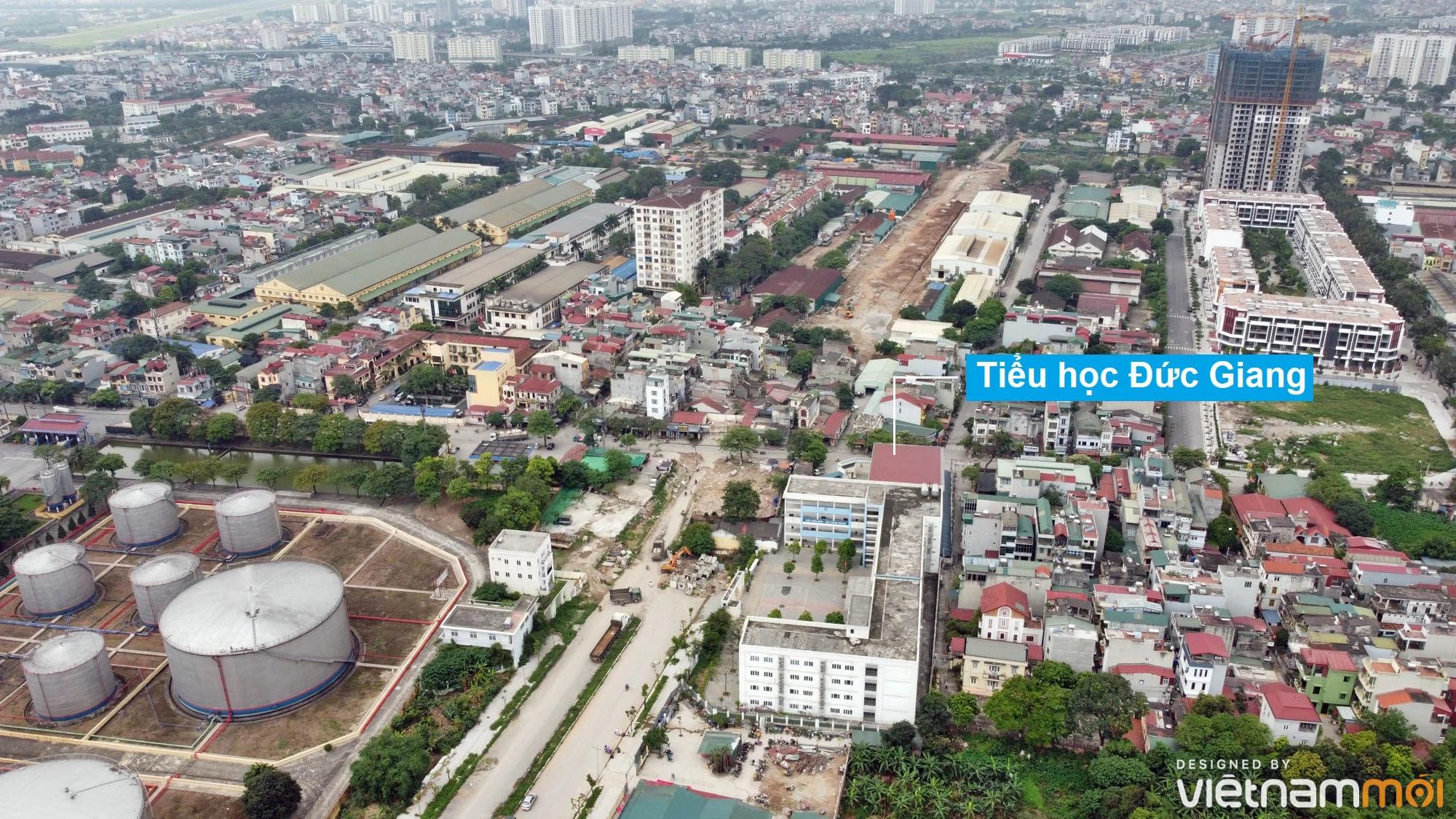 Toàn cảnh đường từ đê Ngọc Thụy đến KĐTM Thượng Thanh đang mở theo quy hoạch ở Hà Nội - Ảnh 14.