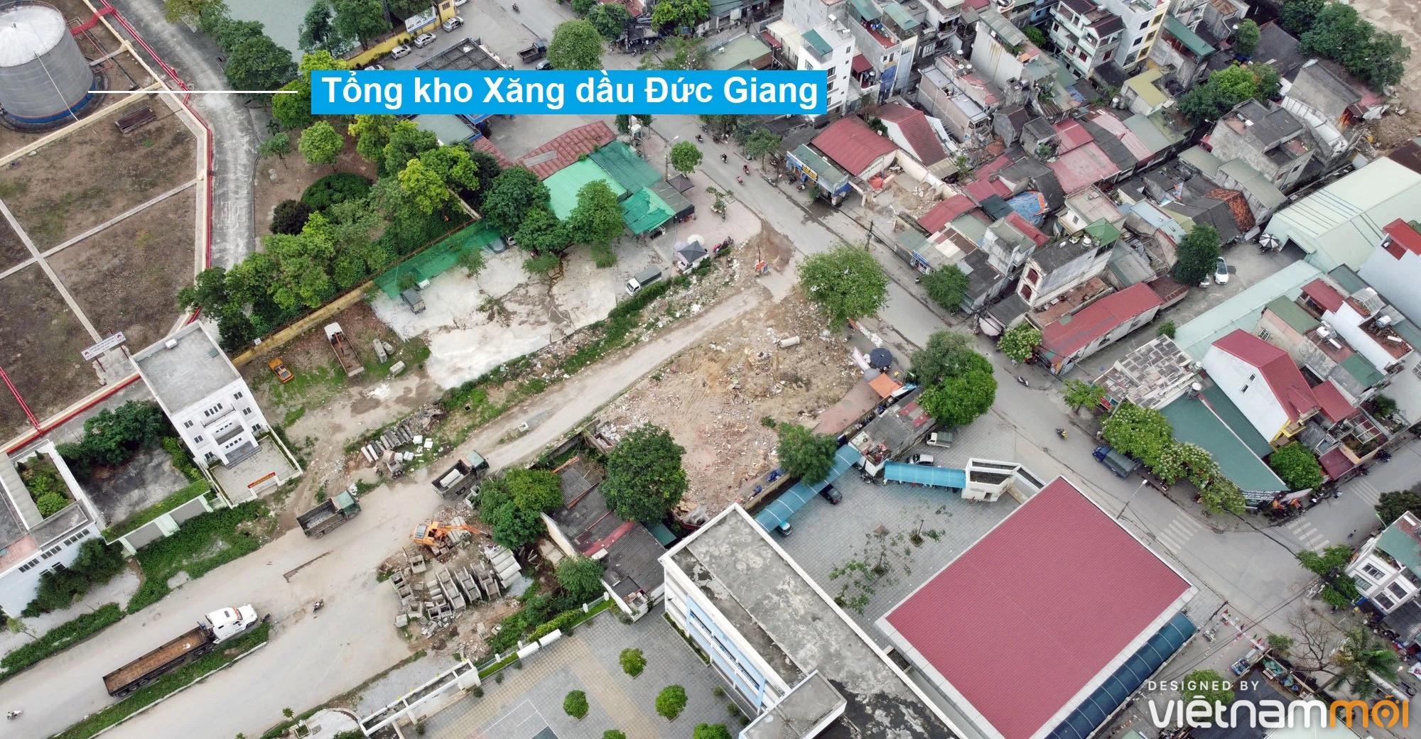 Toàn cảnh đường từ đê Ngọc Thụy đến KĐTM Thượng Thanh đang mở theo quy hoạch ở Hà Nội - Ảnh 17.