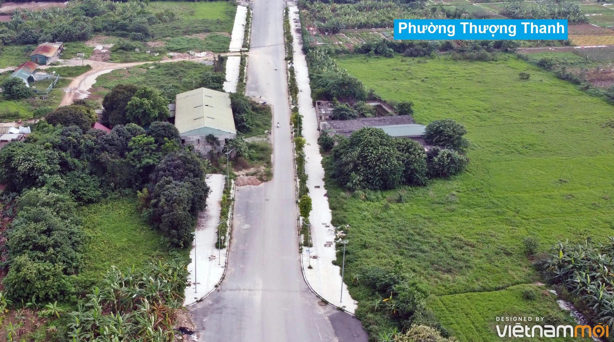 Toàn cảnh đường từ đê Ngọc Thụy đến KĐTM Thượng Thanh đang mở theo quy hoạch ở Hà Nội - Ảnh 20.