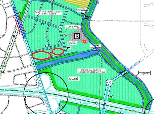 Đất dính quy hoạch ở phường Tây Mỗ, Nam Từ Liêm, Hà Nội - Ảnh 1.