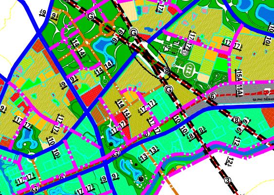 Bản đồ quy hoạch giao thông phường Phương Canh, Nam Từ Liêm, Hà Nội - Ảnh 2.