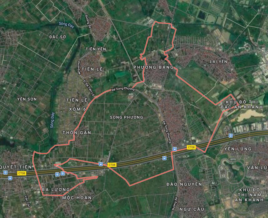 Kế hoạch sử dụng đất xã Song Phương, Hoài Đức, Hà Nội năm 2021 - Ảnh 2.