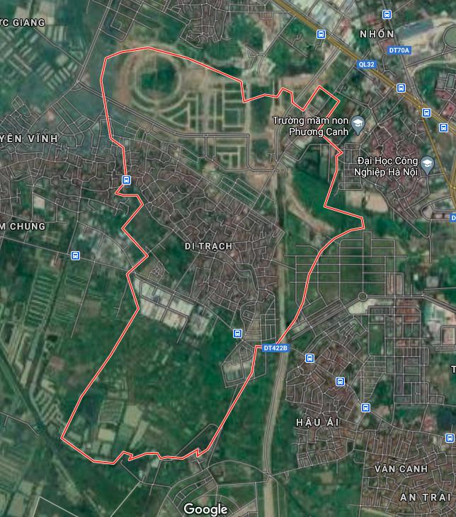 Kế hoạch sử dụng đất xã Di Trạch, Hoài Đức, Hà Nội năm 2021 - Ảnh 2.