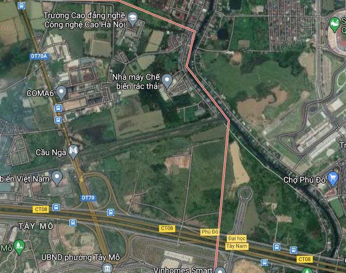 Đất dính quy hoạch ở phường Tây Mỗ, Nam Từ Liêm, Hà Nội - Ảnh 2.