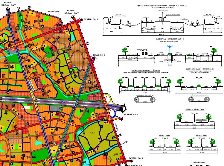 Bản đồ quy hoạch giao thông phường Tây Mỗ, Nam Từ Liêm, Hà Nội - Ảnh 3.