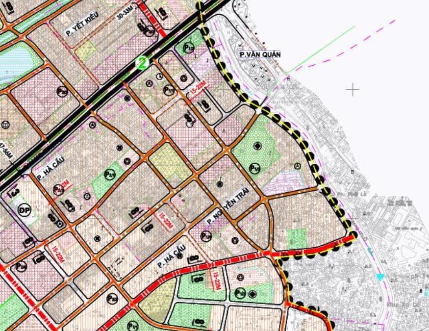 Bản đồ quy hoạch giao thông phường Nguyễn Trãi, Hà Đông, Hà Nội - Ảnh 2.
