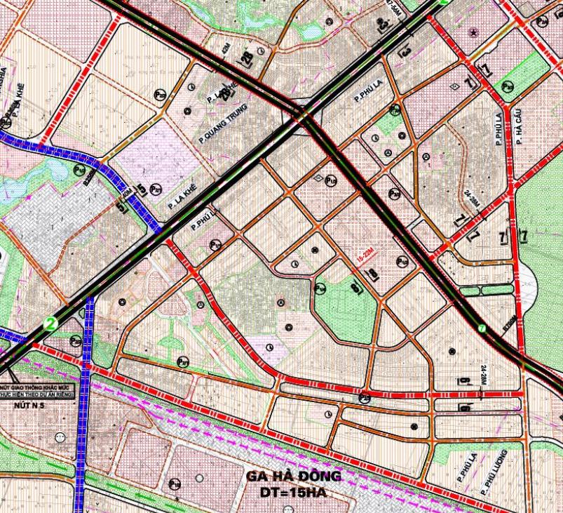 Bản đồ quy hoạch giao thông phường Phú La, Hà Đông, Hà Nội - Ảnh 2.