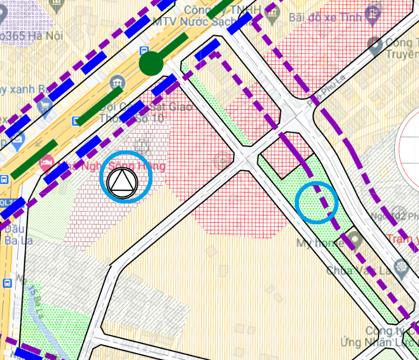 Đất dính quy hoạch ở phường Phú La, Hà Đông, Hà Nội - Ảnh 1.