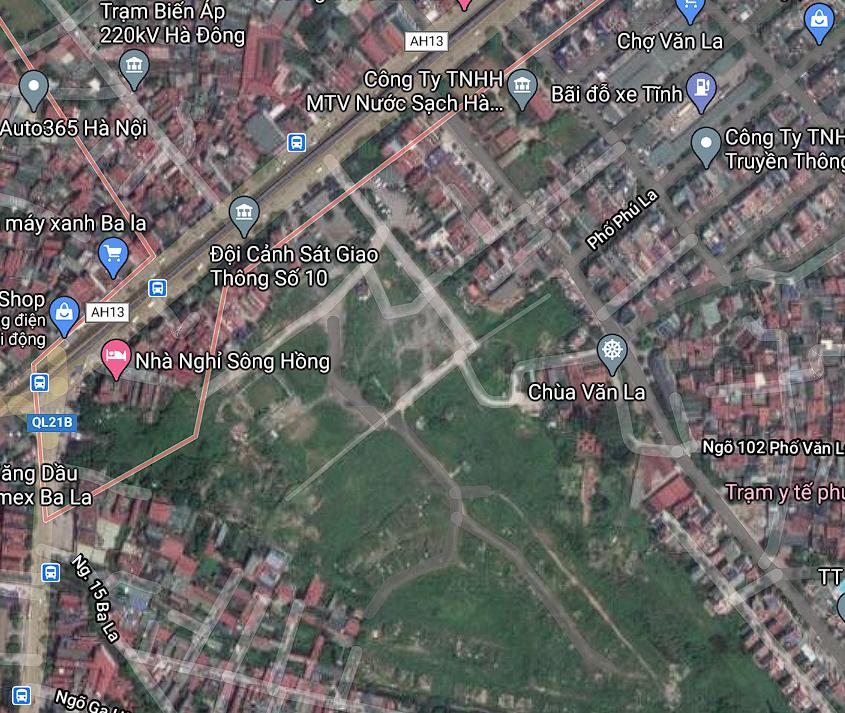 Đất dính quy hoạch ở phường Phú La, Hà Đông, Hà Nội - Ảnh 2.