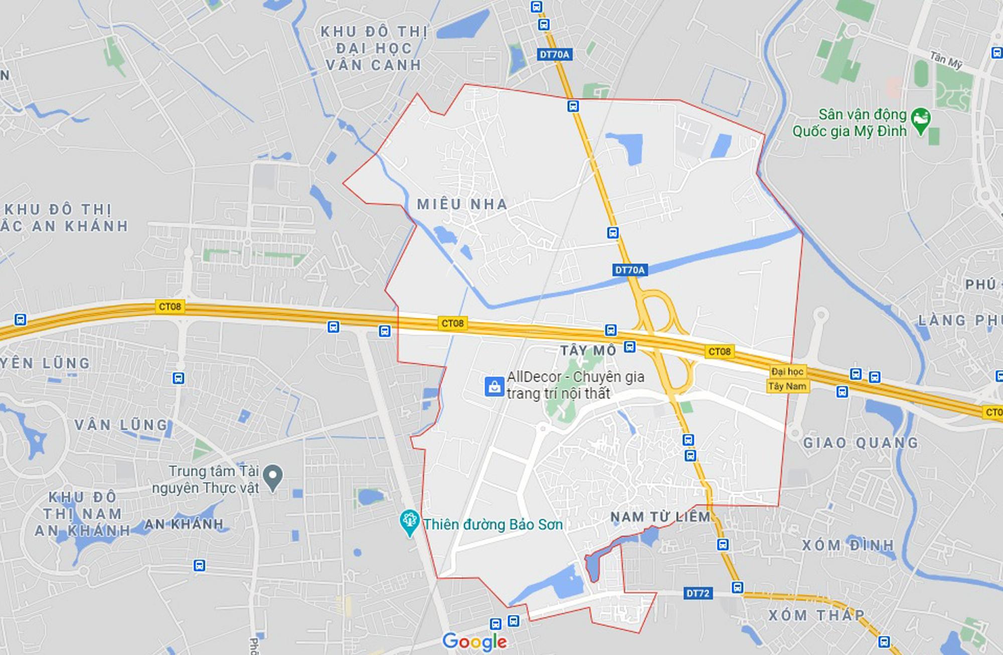 Những khu đất sắp thu hồi để mở đường ở phường Tây Mỗ, Nam Từ Liêm, Hà Nội (phần 2) - Ảnh 1.