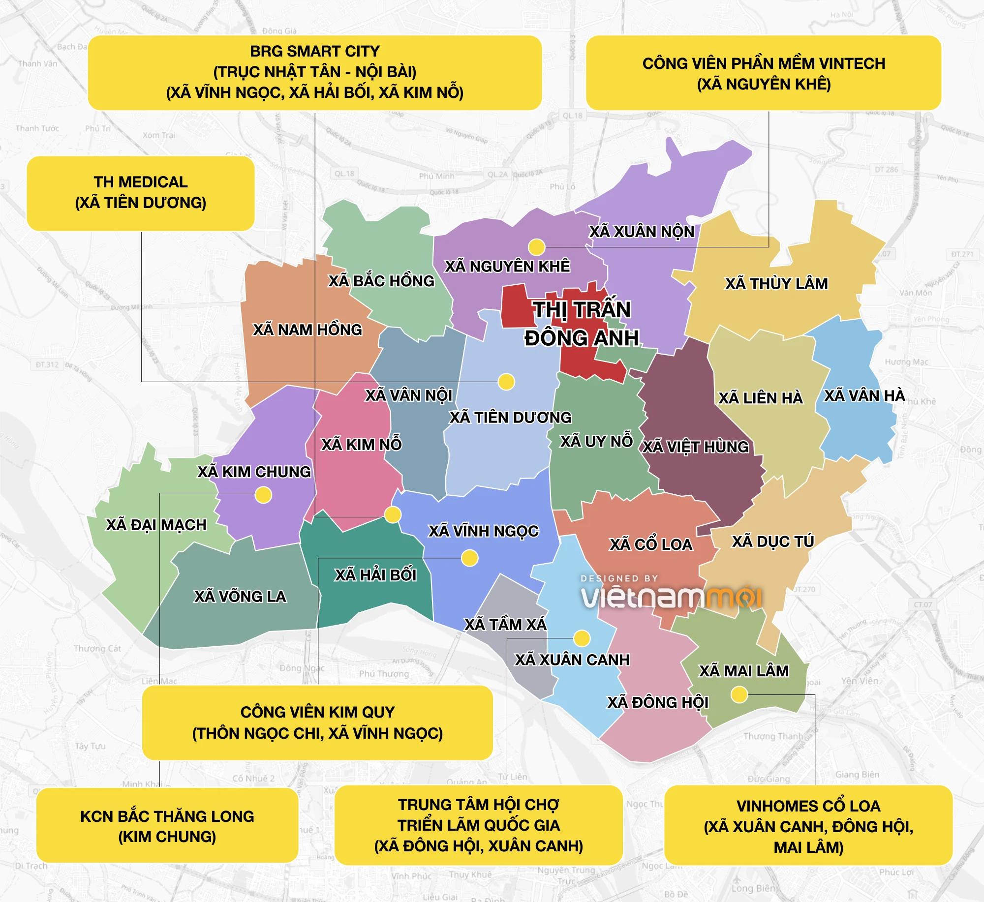 Loạt thông tin quy hoạch nên biết khi mua nhà đất ở Đông Anh, Hà Nội - Ảnh 6.