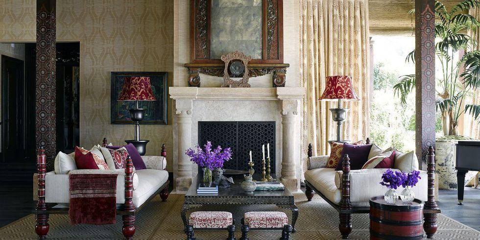 Tham khảo cách trang trí phòng khách ấn tượng bằng giấy dán tường - Ảnh 13.