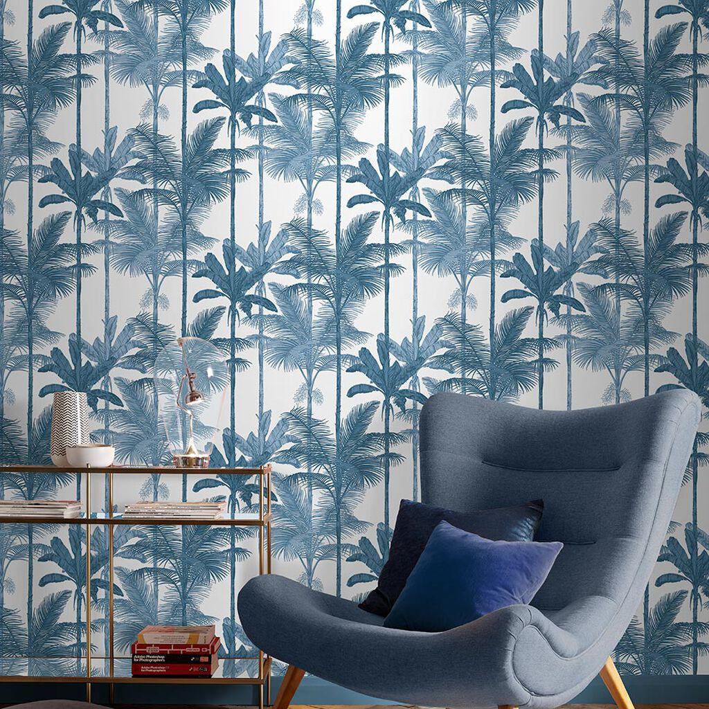 Tham khảo cách trang trí phòng khách ấn tượng bằng giấy dán tường - Ảnh 14.