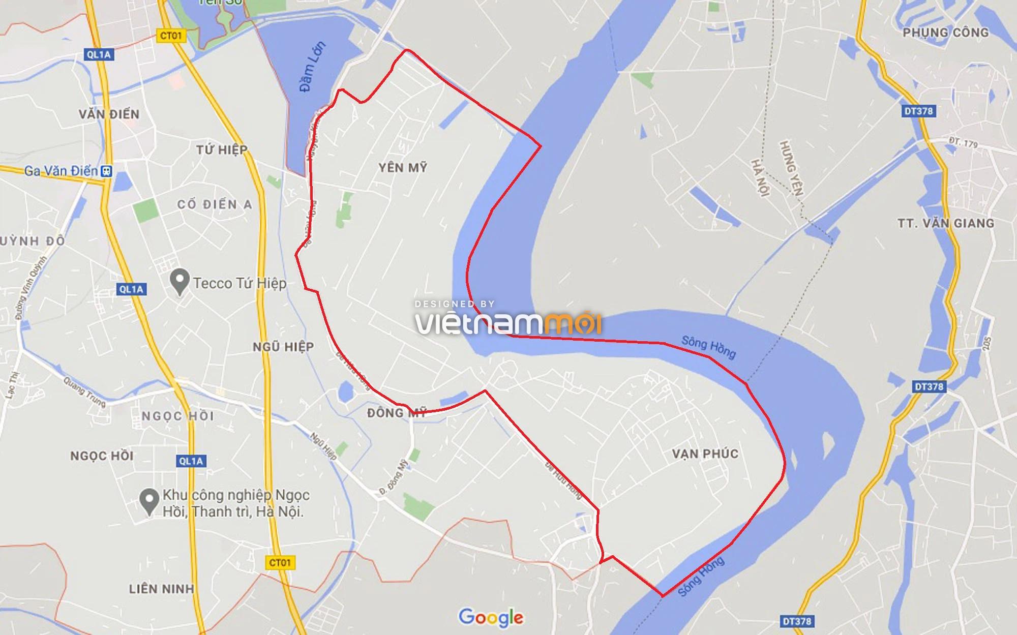 Toàn cảnh hiện trạng Phân khu đô thị sông Hồng trên địa bàn huyện Thanh Trì - Ảnh 1.