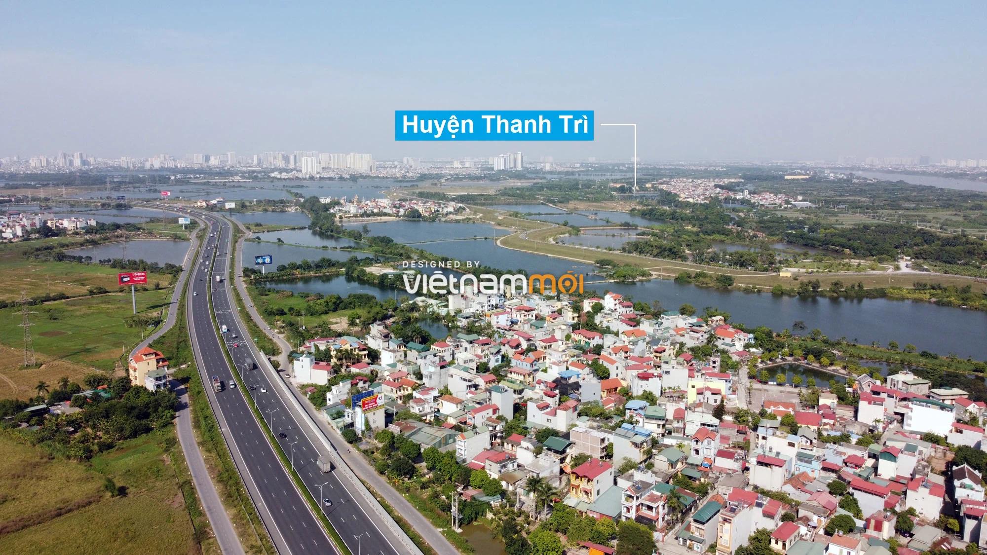 Toàn cảnh hiện trạng Phân khu đô thị sông Hồng trên địa bàn huyện Thanh Trì - Ảnh 2.