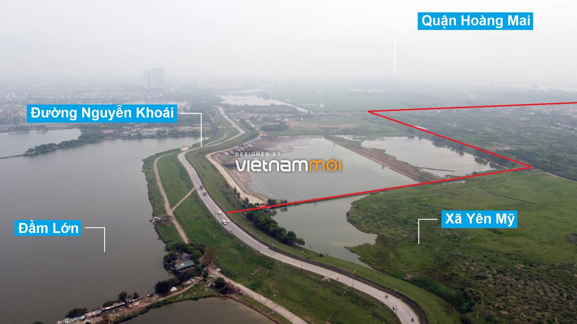 Toàn cảnh hiện trạng Phân khu đô thị sông Hồng trên địa bàn huyện Thanh Trì - Ảnh 3.