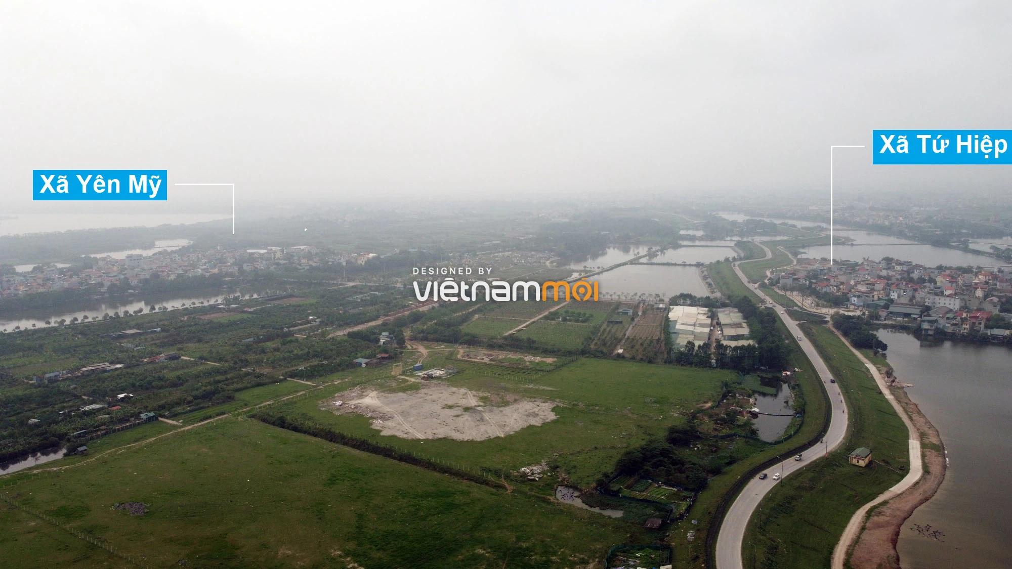 Toàn cảnh hiện trạng Phân khu đô thị sông Hồng trên địa bàn huyện Thanh Trì - Ảnh 4.