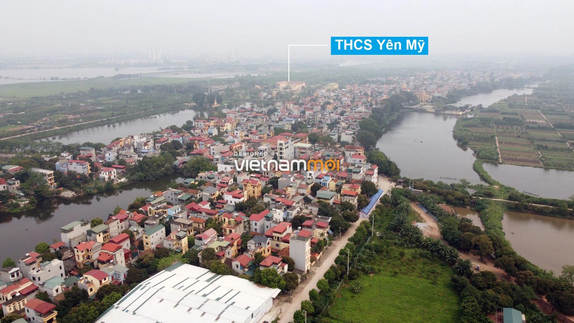 Toàn cảnh hiện trạng Phân khu đô thị sông Hồng trên địa bàn huyện Thanh Trì - Ảnh 6.